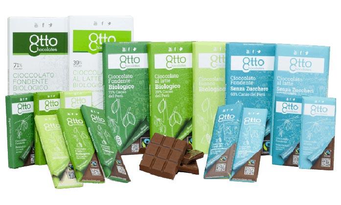 Otto Chocolates | Cioccolato biologico | Fair Trade | Dispensa