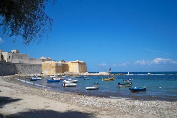 Spiaggia-in-centro-a-Trapani
