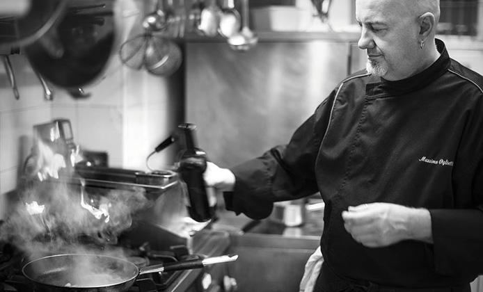 chef Achilli Enoteca al Parlamento