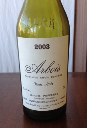 Jacques-Puffeney-Arbois-pinot-noir-2003