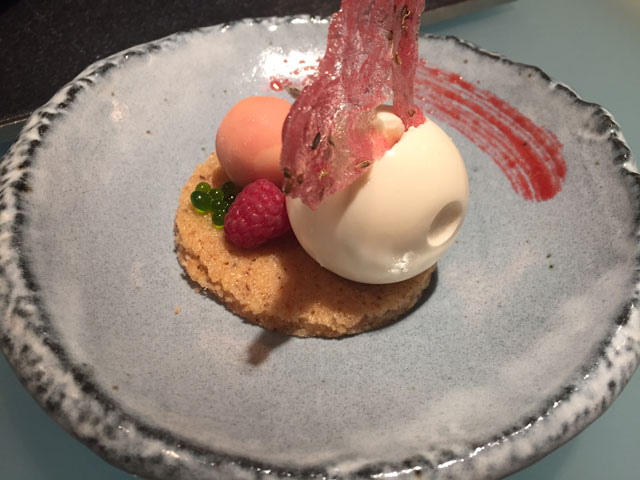 Glass Hostaria dessert