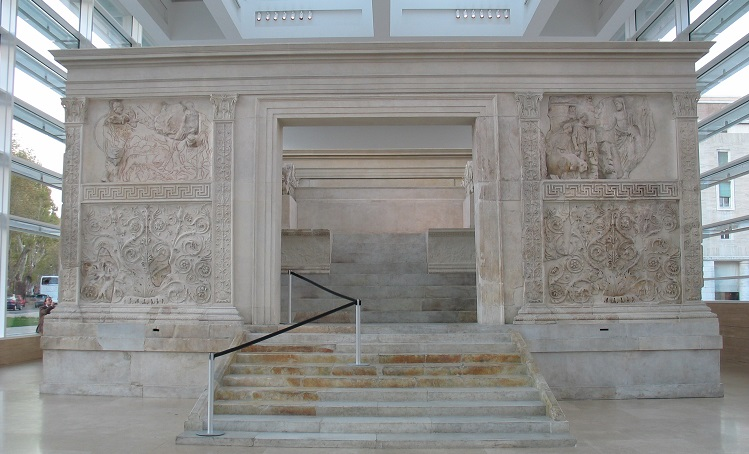 Ara pacis e prandium romano con triclinium cibo dall 39 impero for Cibo romano