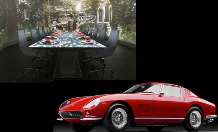 infografica auto di lusso