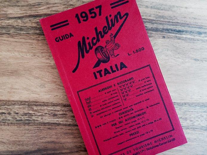 guida michelin italia 1957