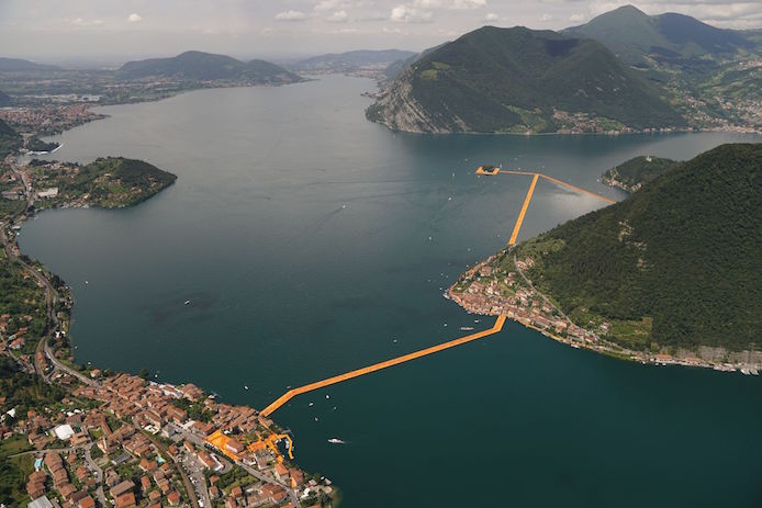 The Floating Piers Lago d'Iseo