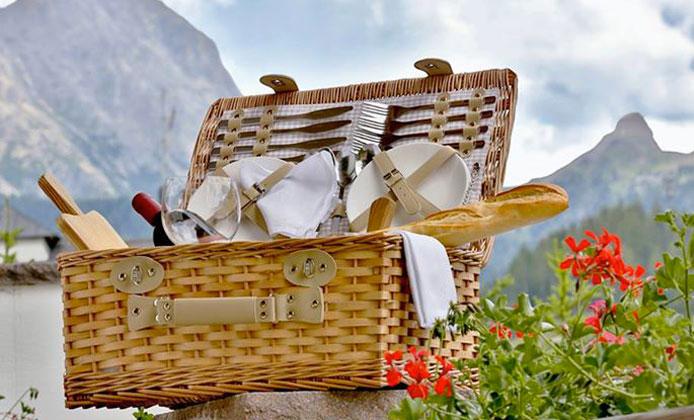 picnic gourmet dolomiti
