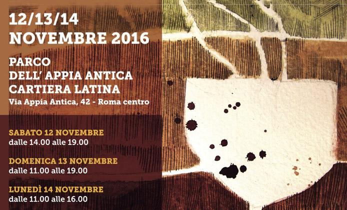 locandina vinnatur roma 2016