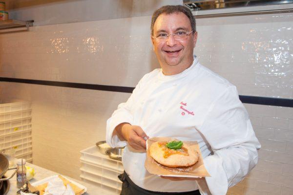 Paolo Gramaglia pizza fritta star