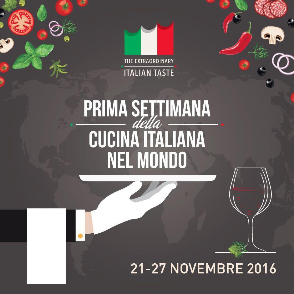 settimana della cucina italiana nel mondo