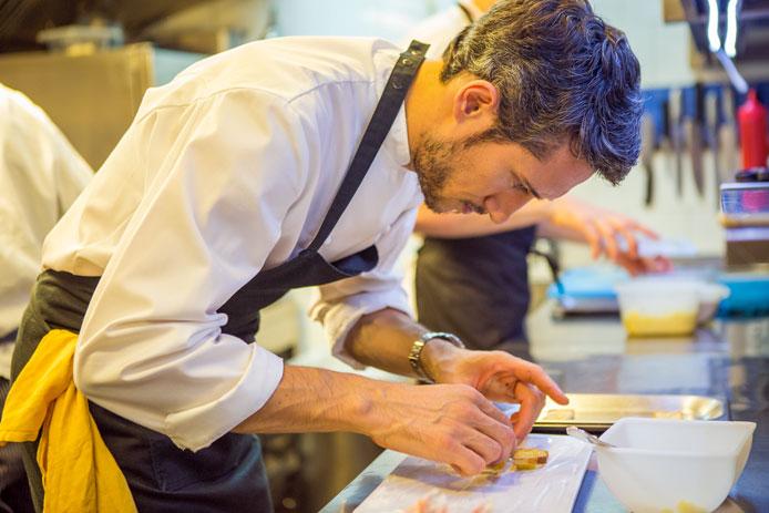 Chef Federico Delmonte