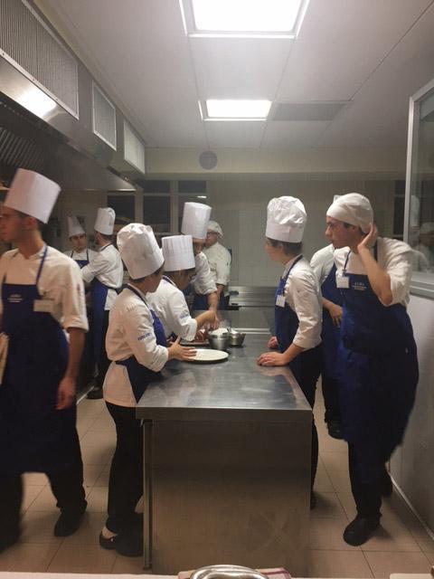 Alma scuola di cucina cena d 39 autore con giuliano baldessari - Alma scuola cucina ...