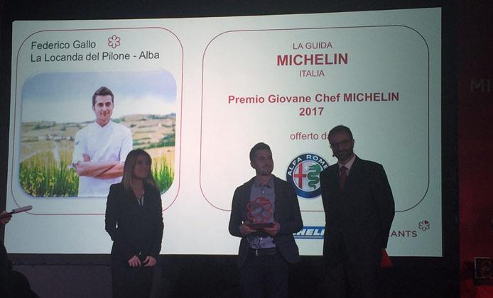 premio giovane chef michelin