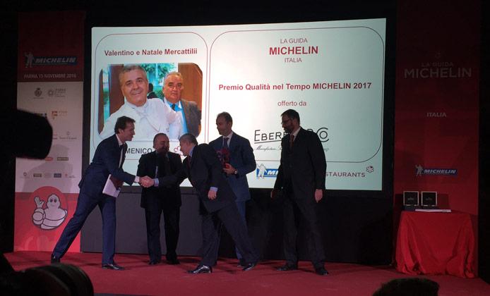 Qualità nel tempo guida Michelin Italia 2017