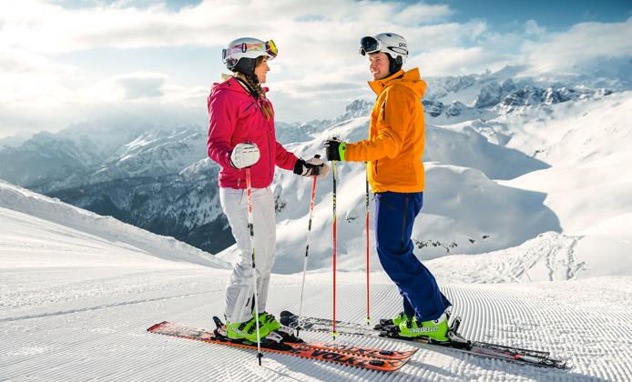 stagione sciistica in alta badia
