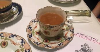 tè all'inglese