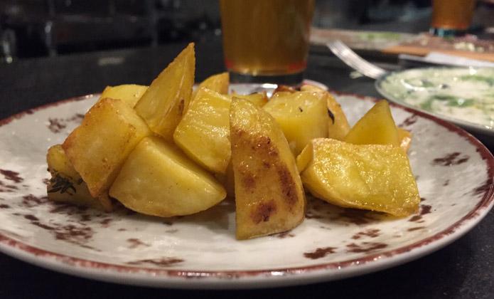 osteria birra del borgo patate