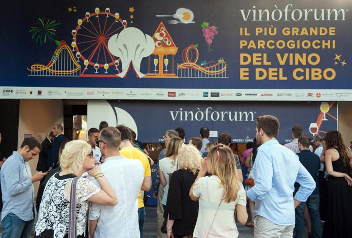 Vinòforum 2017, lo Spazio del Gusto a Roma