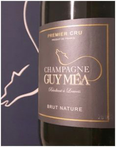 Champagne Brut Nature Guy Méa