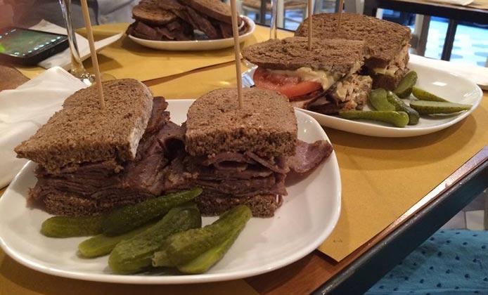 pastrami sandwich Dad's Deli