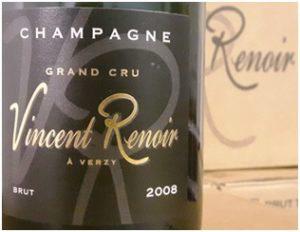 Champagne Brut Grand Cru 2008 Vincent Renoir