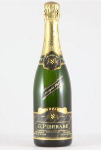 Champagne Les Hautes Bauves 2005 Gérald Pierrard