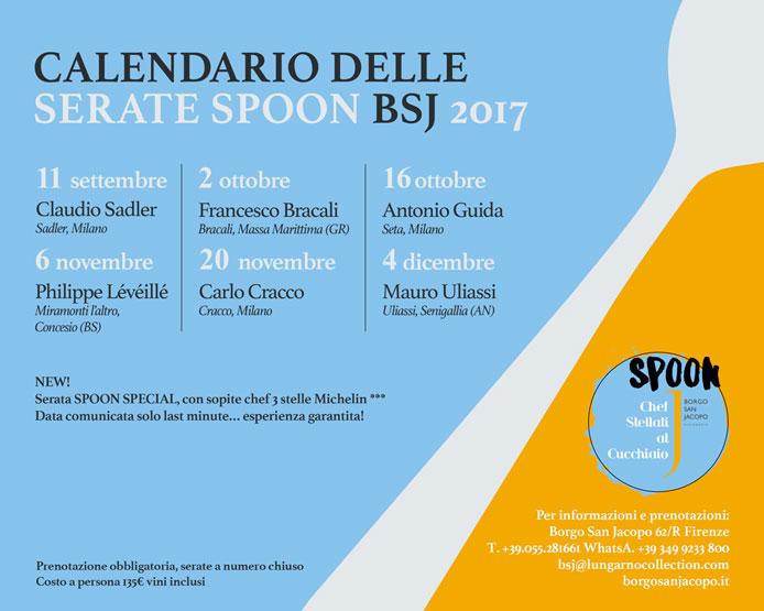 calendario Spoon 2017