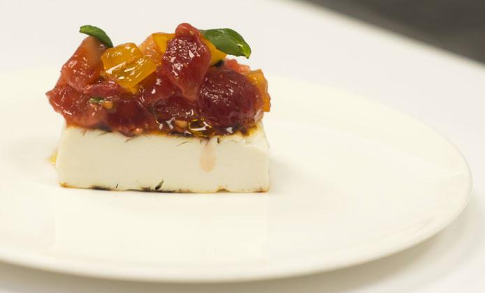 dessert ricotta pomodorini