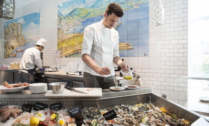 Il pesce crudo secondo Eataly