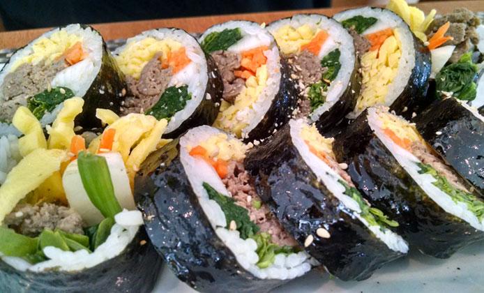 dream ristorante coreano kimbap
