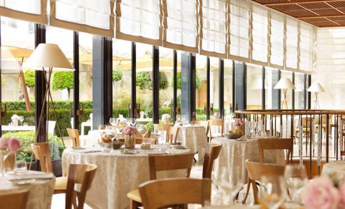 Ristorante La Veranda del Four Seasons Hotel Milano