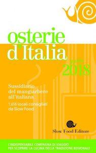 Osterie d'Italia 2018