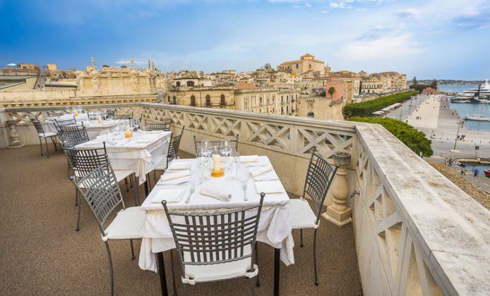 La Terrazza sul Mare del Grand Hotel Ortigia | Recensioni | Via dei ...
