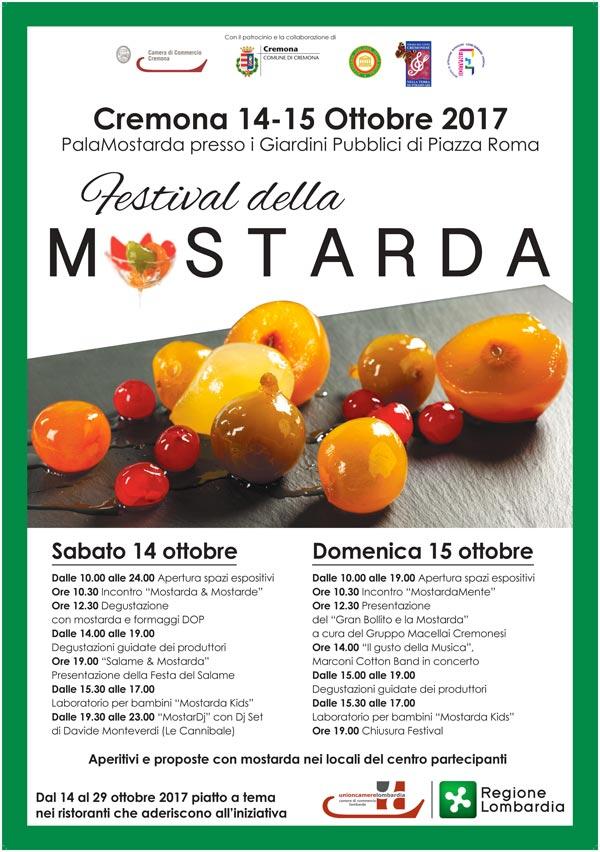 Locandina Festival della Mostarda