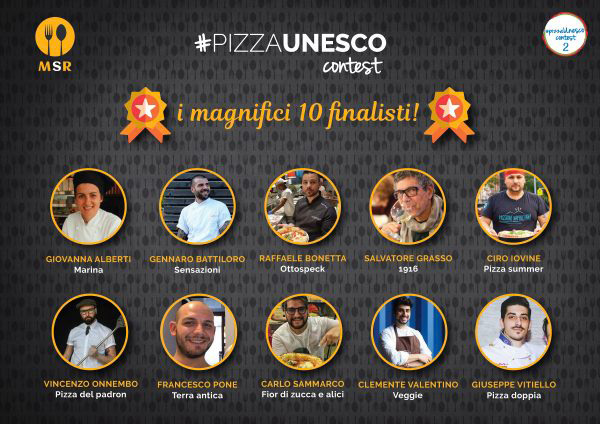 finalisti #pizzaUnesco