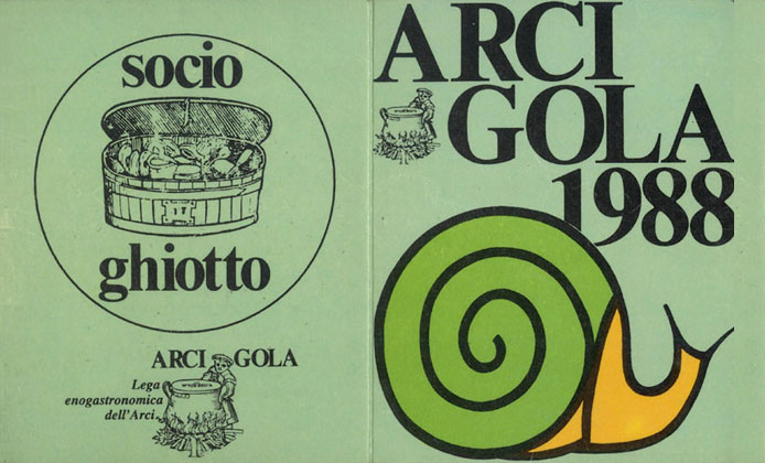 Slow Food Arcigola 1988