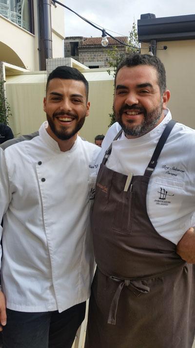 Ciccio Vitiello e Roy Caceres