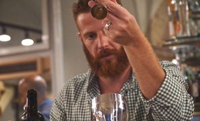 bartender Emanuele Broccatelli