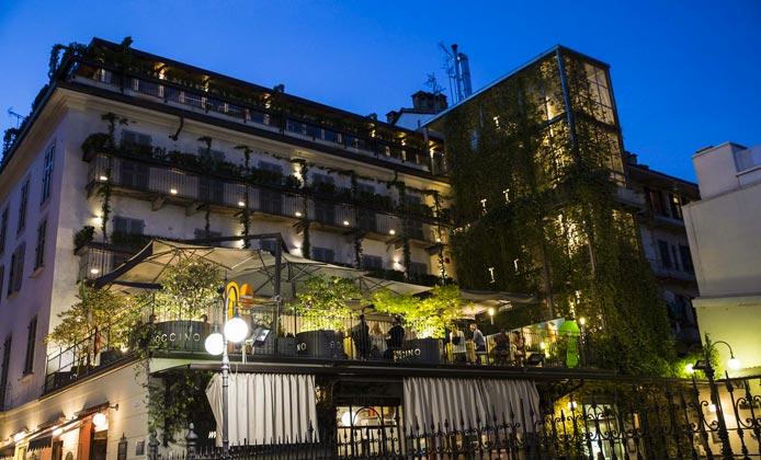 terrazza ristorante boccino milano