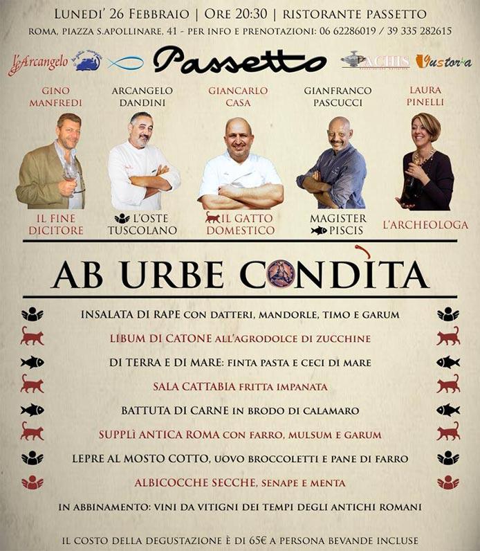 AB URBE CONDiTA