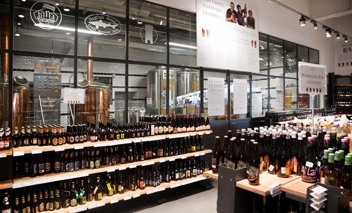 Cotta pubblica della birra da Eataly Roma per la Giornata Spreco Alimentare