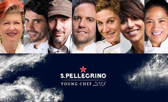 Giuria S.Pellegrino Young Chef 2018