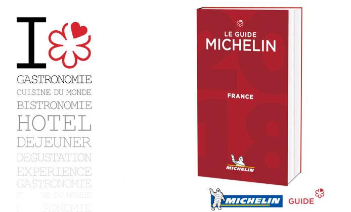 Guida Michelin Francia 2018