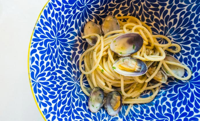 Spaghetti alle vongole quarantunododici