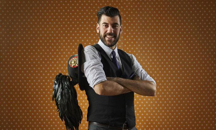 Bartender Cristian Guitti