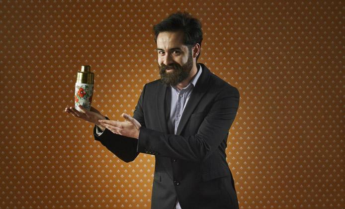 Bartender Lorenzo Aiosa
