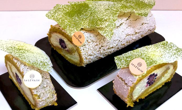 Ricetta Bamboo - biscuit con cremoso al tè matcha