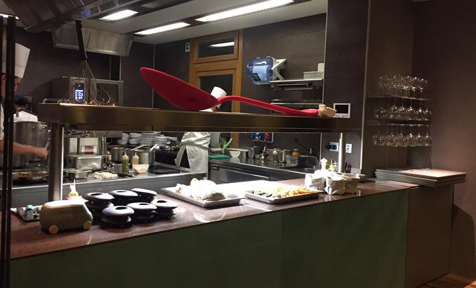 Aqua Crua | Cucina
