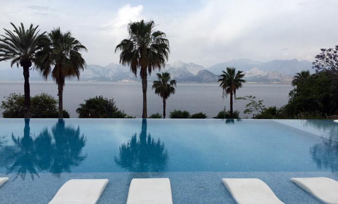 piscina akra hotel antalya