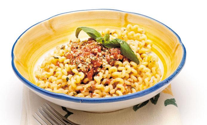 primi piatti vegani pasta pesto trapanese