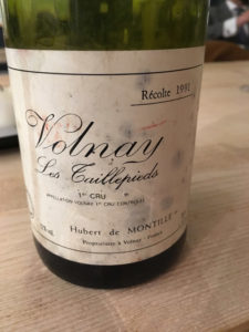 volnay les taillepieds 1991